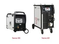Компактные аппараты сварки MIG/MAG с плавной регулировкой Taurus 355 / 401