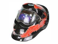 Маска сварщика FoxCraft «Киборг» (цвет: красный)