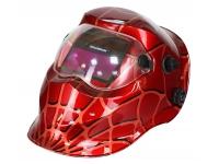Маска сварщика FoxCraft «Спайдер» (цвет: красный)