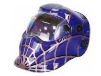 Маска сварщика FoxCraft «Спайдер» (цвет: синий)