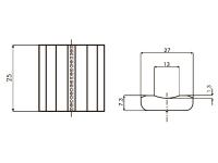 Размеры керамических подкладок MOST LT05 TIA