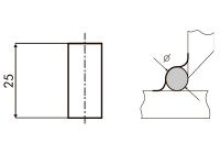 Размеры керамических подкладок MOST LT06 TIA