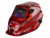 Маска сварщика FoxMatic (цвет: красный)
