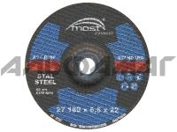 Диск для шлифовки черной стали тип 27 MOST STANDARD